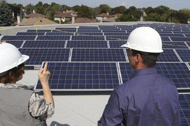 Un 1000e projet solaire sur les toits de la capitale