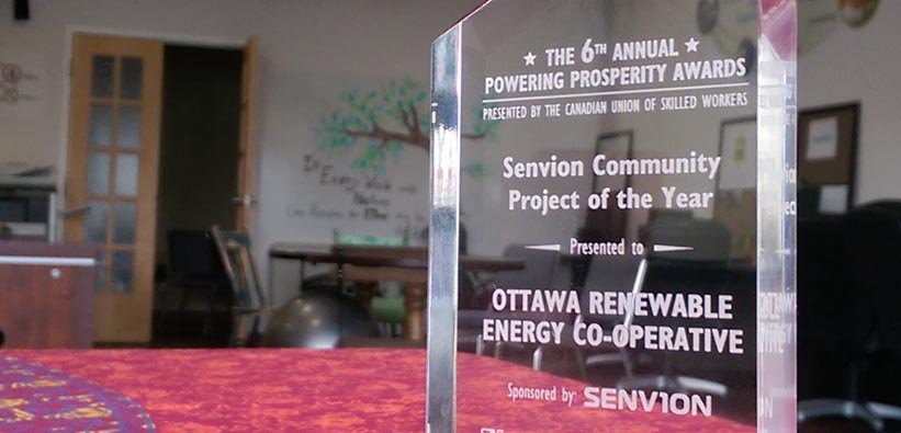 OREC project at local school recognized with an award