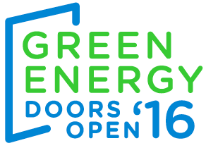 Logo for Green Energy Doors open '16