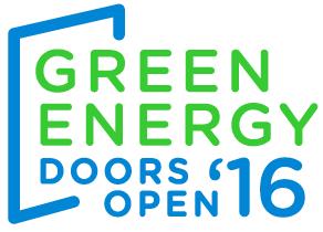 Logo for Green Energy Doors open '16
