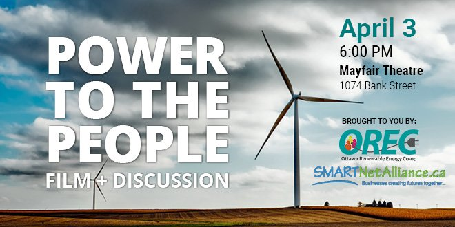 April 3 – Power to the People – FREE Doc Screening