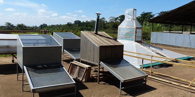 Solar Dryers in Tanzania
