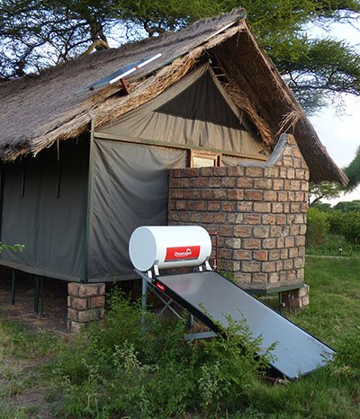 Solar lodges in Tanzania