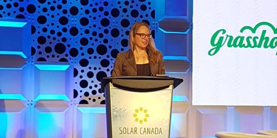 OREC GM Named Solar Woman of Distinction